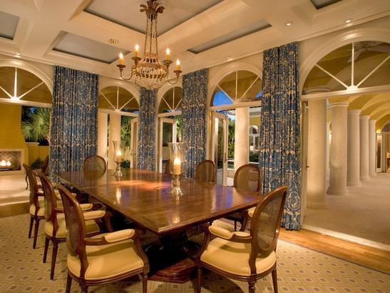 Mediterranean dining room 2