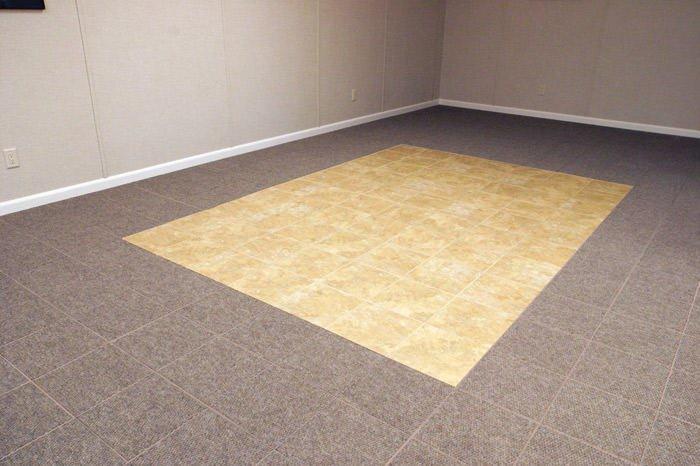 basement carpet flooring