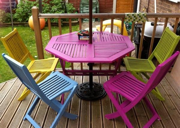 patio colorful