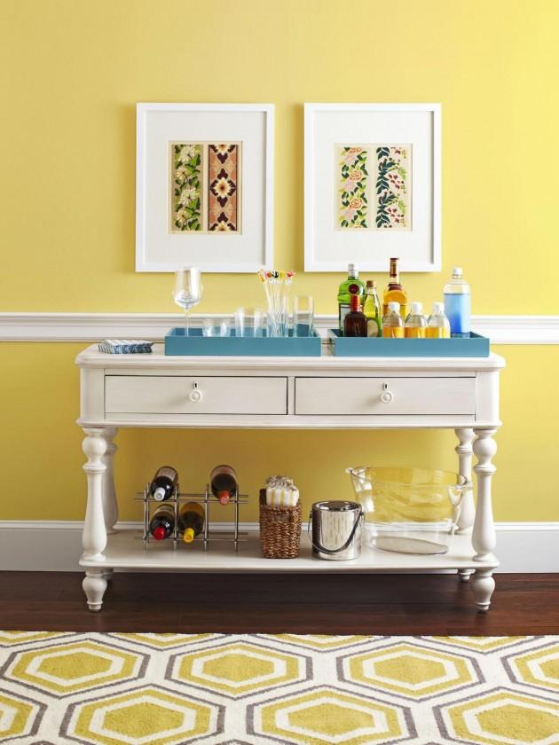 Console Table Bar