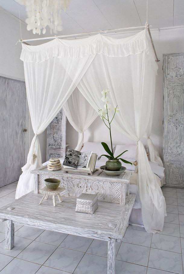 flowy curtains
