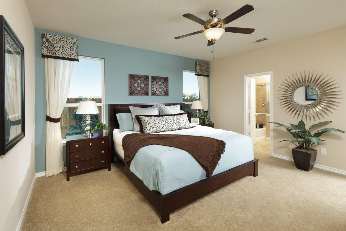 Install A Bedroom Fan During Summer To Keep The Bedroom Cool