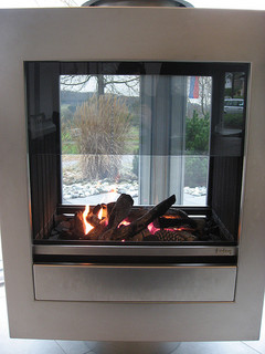 types of fireplaces with gas