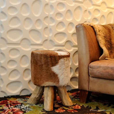 Paneled Accent Wall