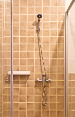 spanish revival style bathroom