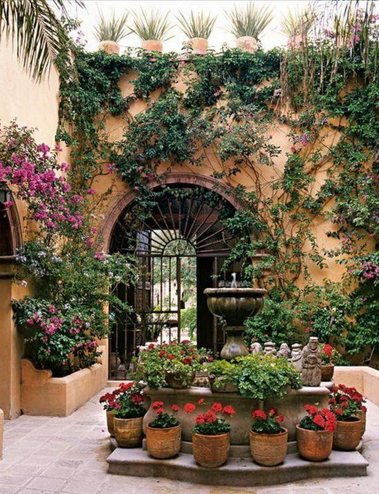 How To Design A Mexican Patio • Home Tips on Mexican Patio Ideas id=20924