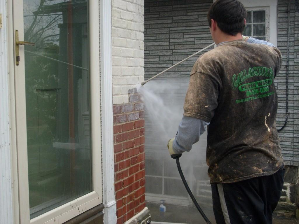 pressure washing for paint