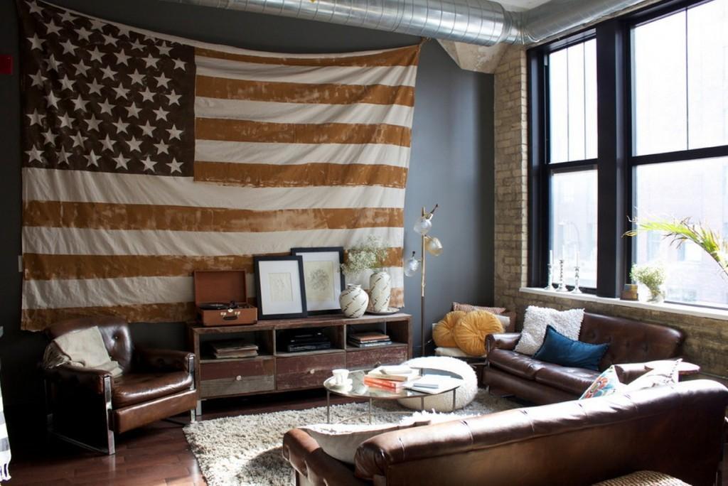 American Patriotic Interior Design Style 2