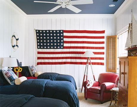 American Patriotic Interior Design Style 3