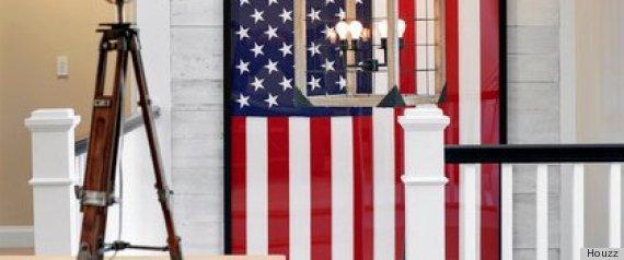 American Patriotic Interior Design Style 4