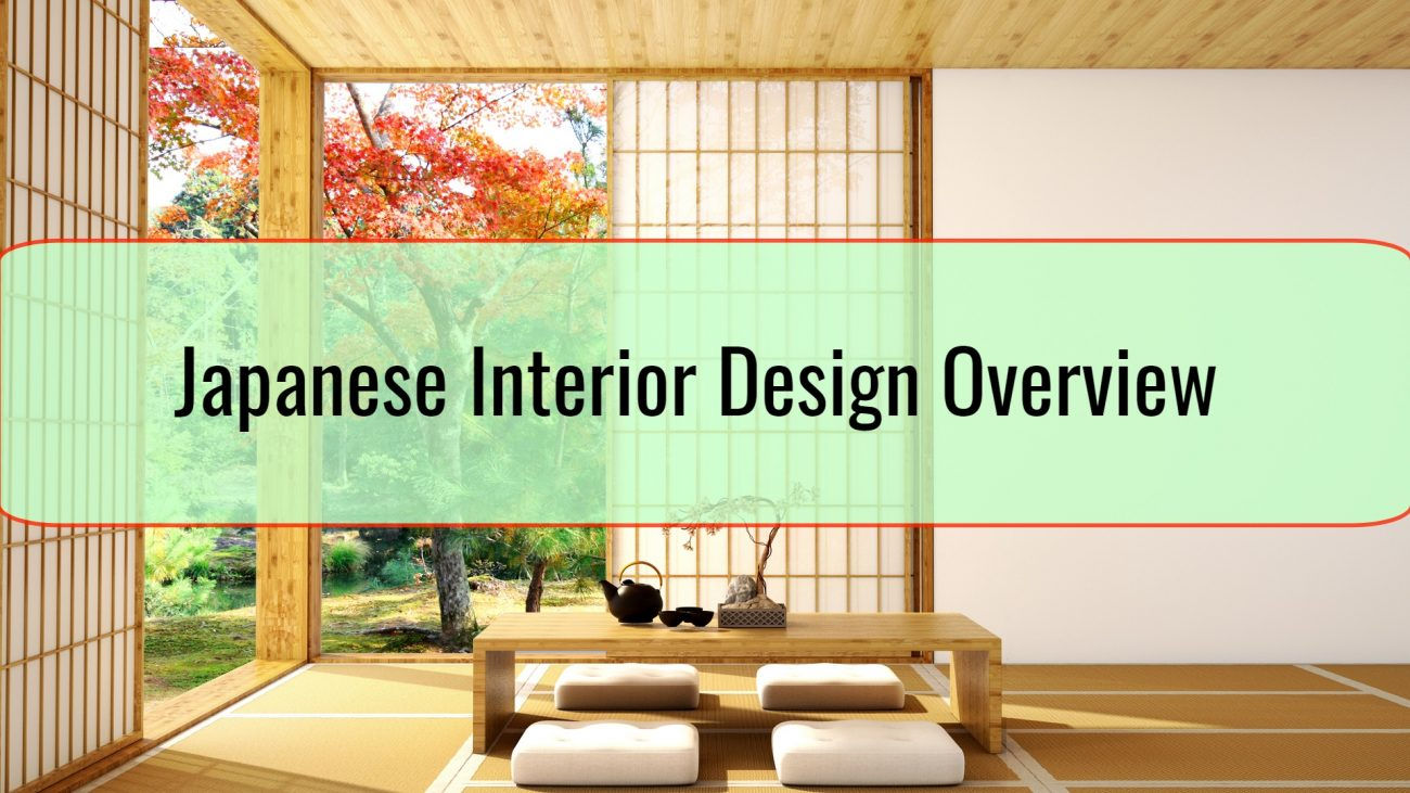Japanese Interior Design Overview