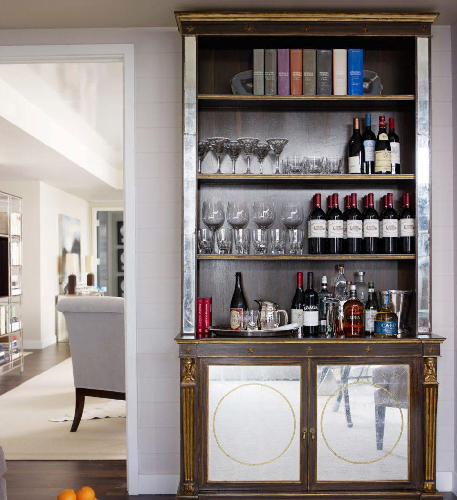 Elegant Dining Room Bar