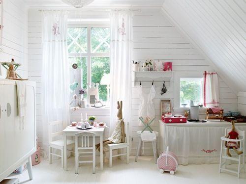 shabby chic children's room