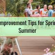 Patio Improvement Tips for Spring and Summer